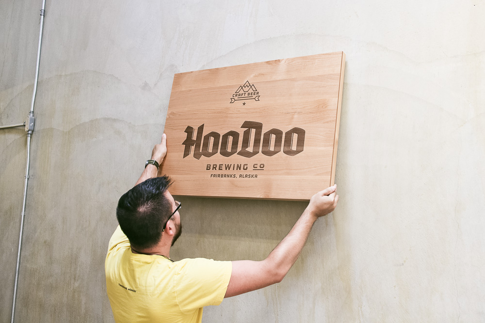 HooDoo Etched Sign