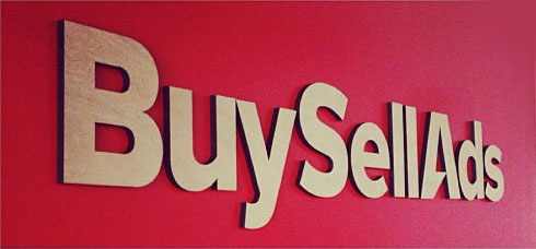 Cutout Wood Signage for BuySellAds