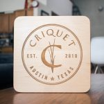 Criquet Shirts Wood Sign