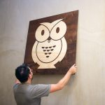 Owl Wood Sign