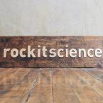 Rockit Science Raised Wood Sign