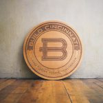 Build Cincinnati Round Etched Wood Sign