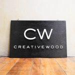 Creative Wood Metal And Wood Sign