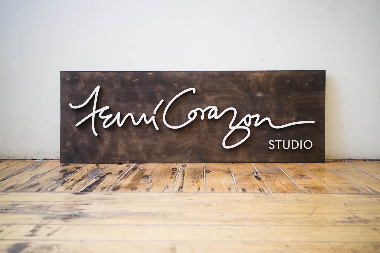 Femi Corazon Sign