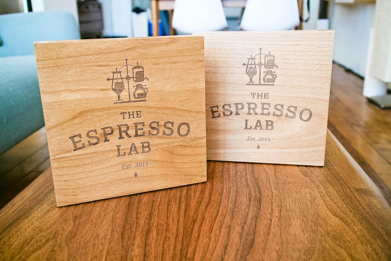 Espresso Lab Sign