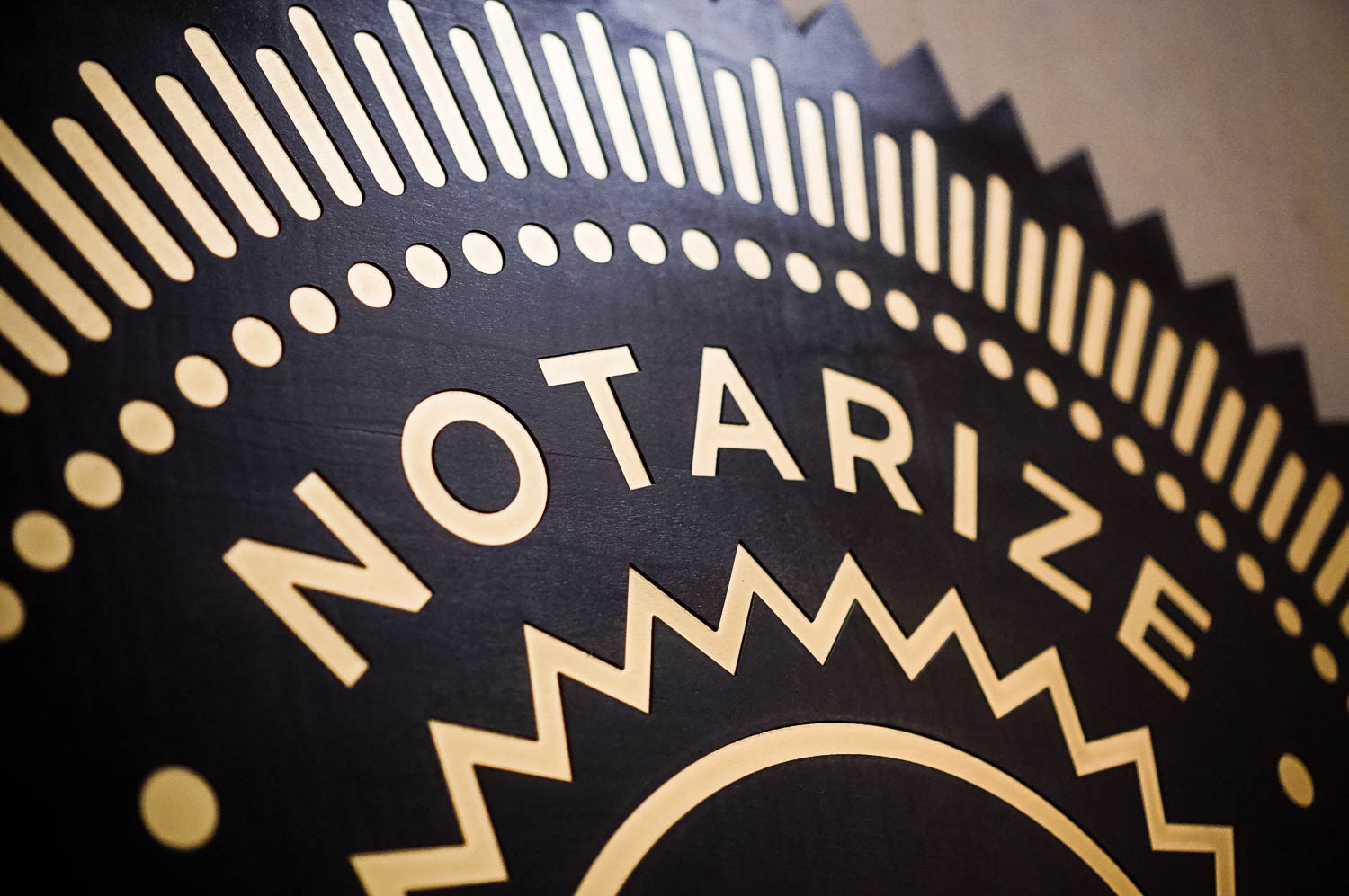 Notarize sign