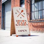 Brown Sugar Kitchen A-Frame Sign