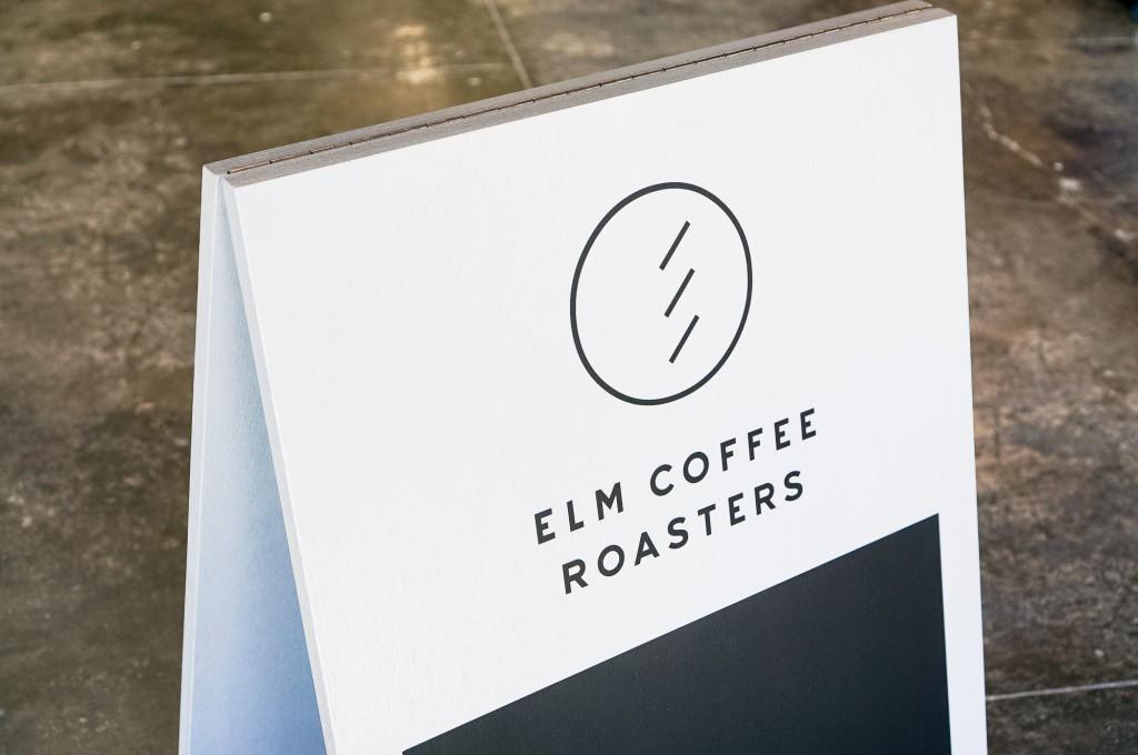 Elm Coffee Roasters A-Frame Sign
