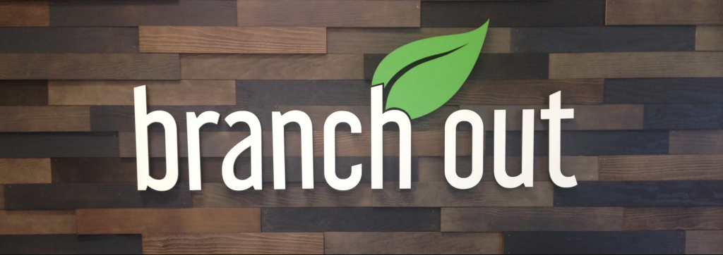 Branch Out Foods Sign