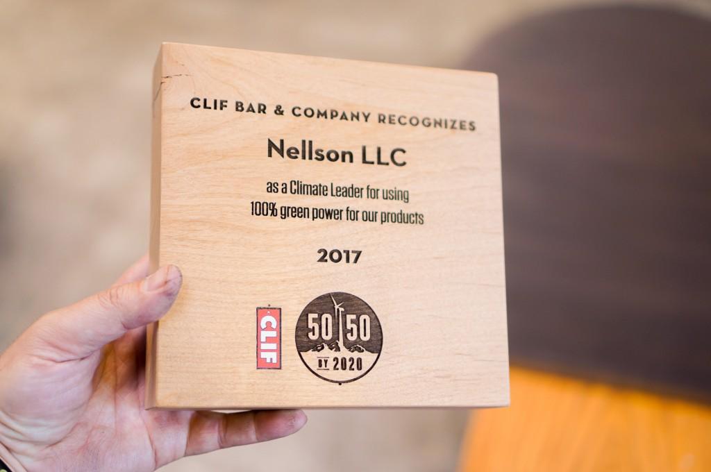 Clif Bar 50-50 Award