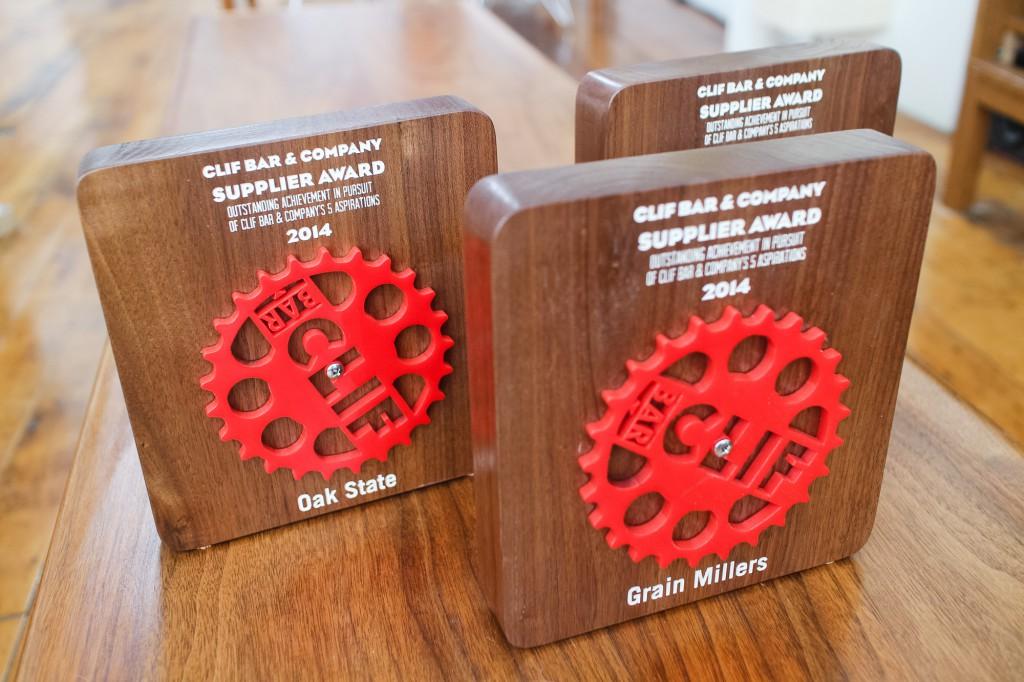 Clif Bar Supplier Awards