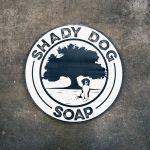 Shady Dog Soap Sign