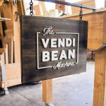 The Vendi Bean Machine Sign