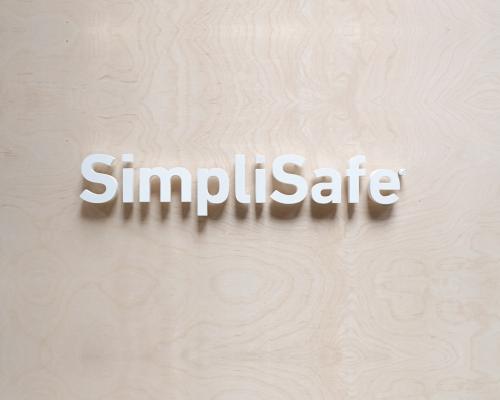 SimpliSafe Display Sign