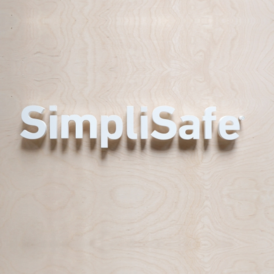 SimpliSafe Display Sign