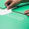 thumbtack office signage process