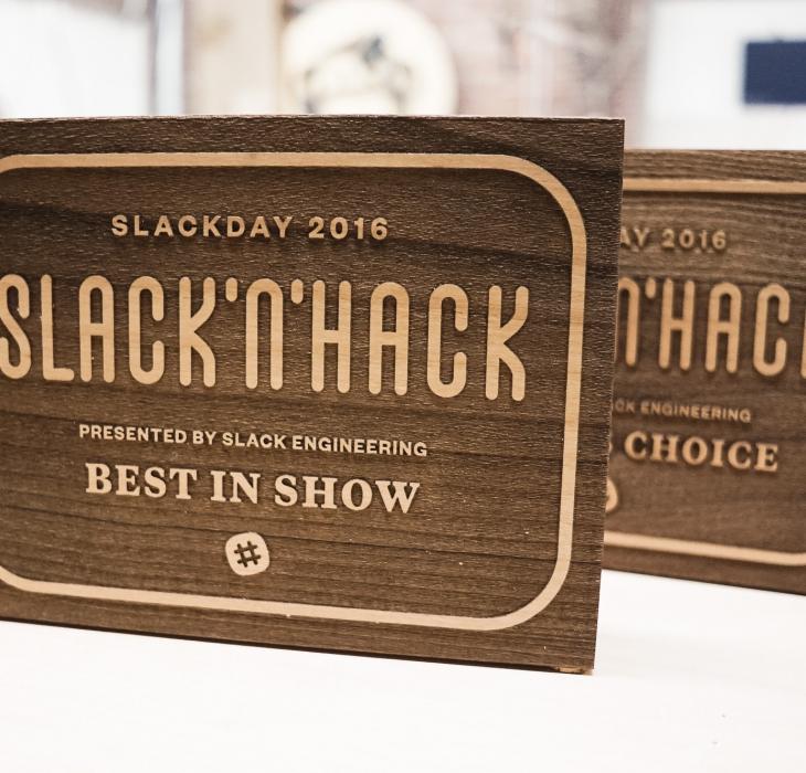 Slack n' Hack Awards
