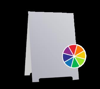 A-frame Sign in Custom Color