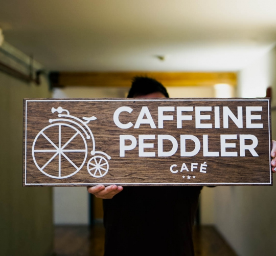 Caffeine Peddler Cafe