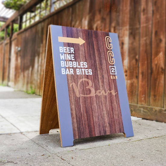 Coffee Cultures A-Frame
