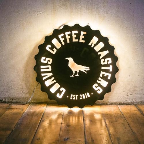 Corvus Coffee, Illuminated