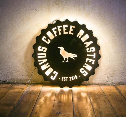 Corvus Coffee, Illuminated