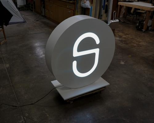 SimpliSafe Illuminated Sign