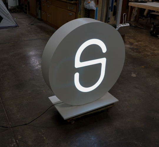 SimpliSafe Illuminated Sign