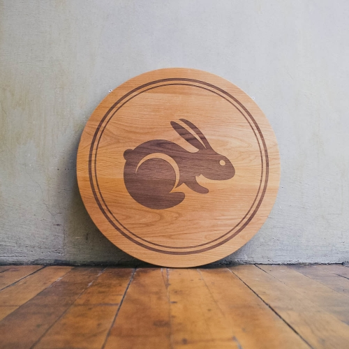 TaskRabbit Etched Sign