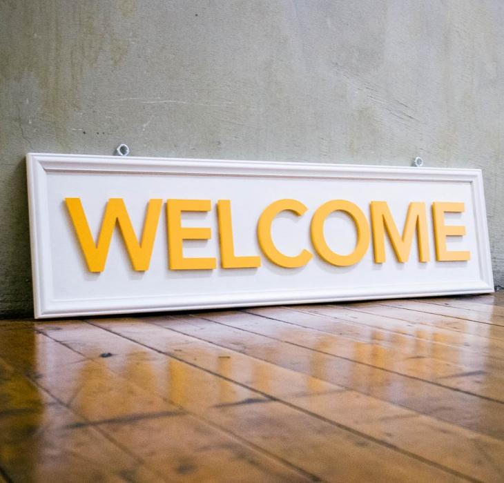 Philz Coffee, Welcome Sign