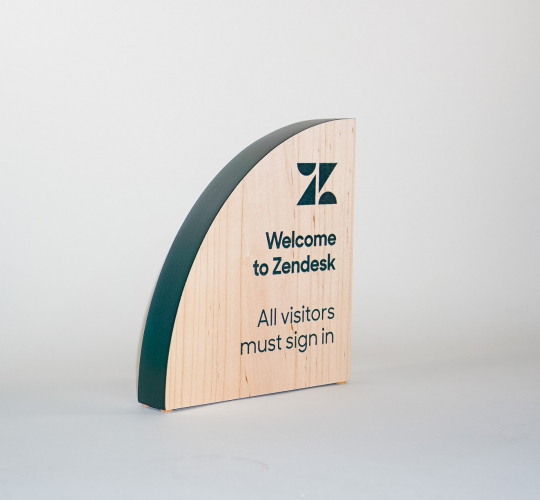 Zendesk Welcome Sign