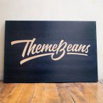 ThemeBeans Etched Sign