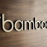 Bamboo HR Wood Lobby Sign