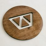 Watsi wood sign