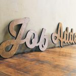 Cutout Wood Signage for JobAdder
