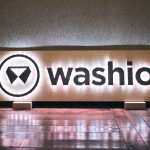Washio illuminated wood sign