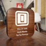 iMore Walnut Wood WWDC Award
