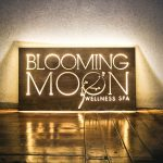 Blooming Moon Illuminated Sign