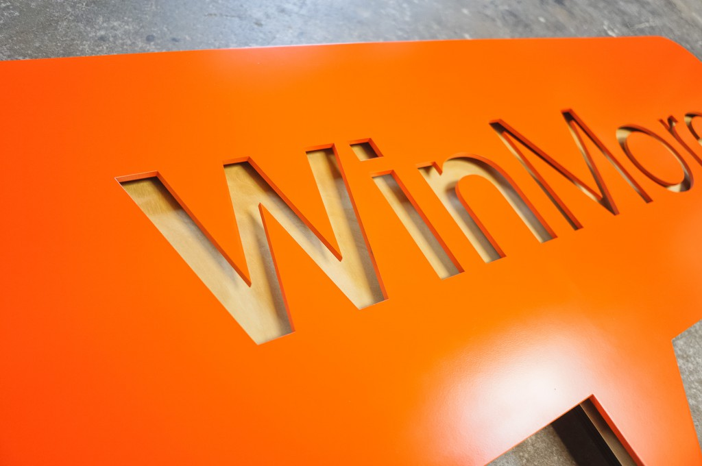 Doublecheck Winmore sign