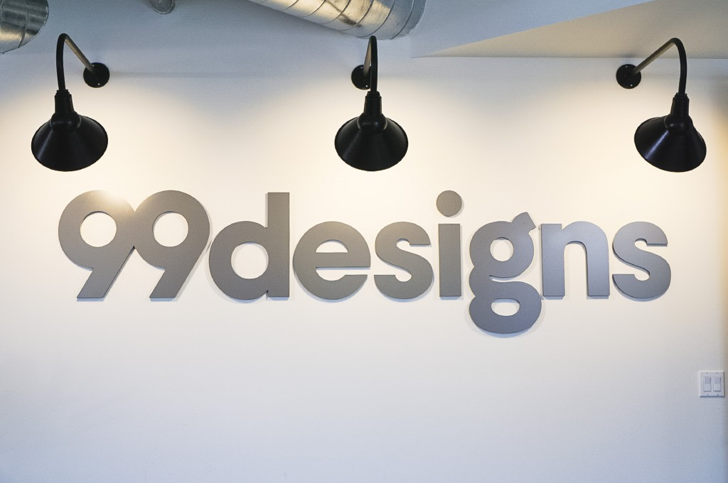99designs lobby sign