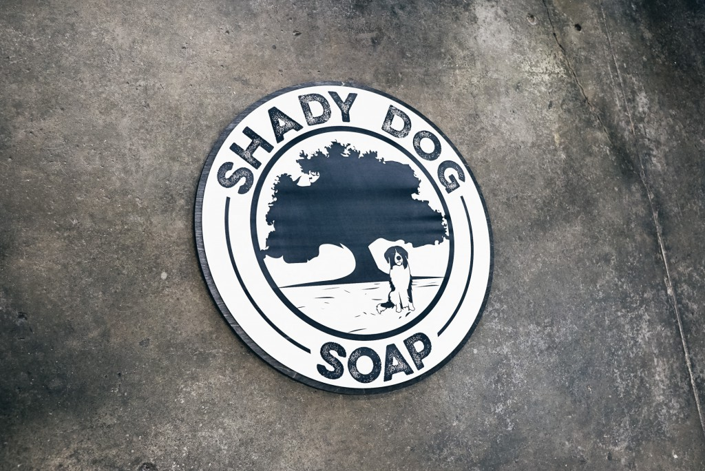Shady Dog Soap Sign