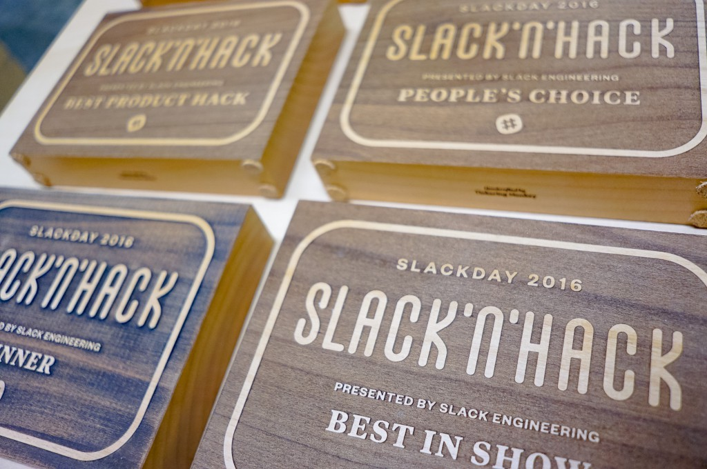 Slack and Hack Awards