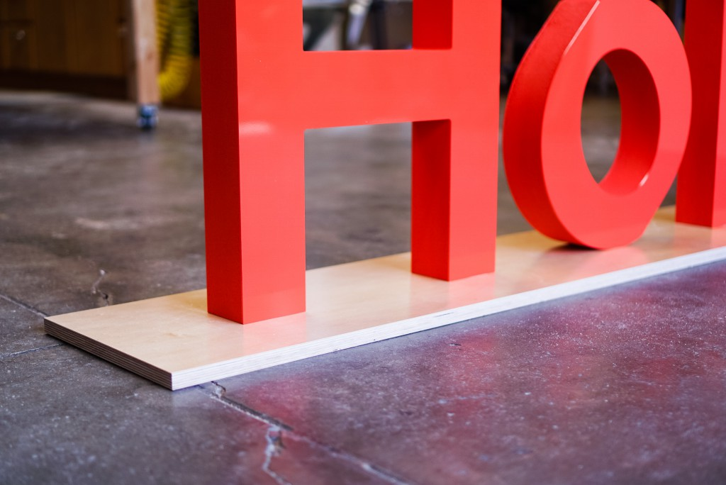 Holberton Freestanding Sign