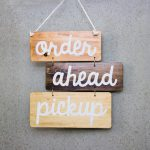 Three toned rustic wood sign with rope for Philz Coffee, an American coffee company and coffeehouse chain based in San Francisco, California, considered a major player in third wave coffee.