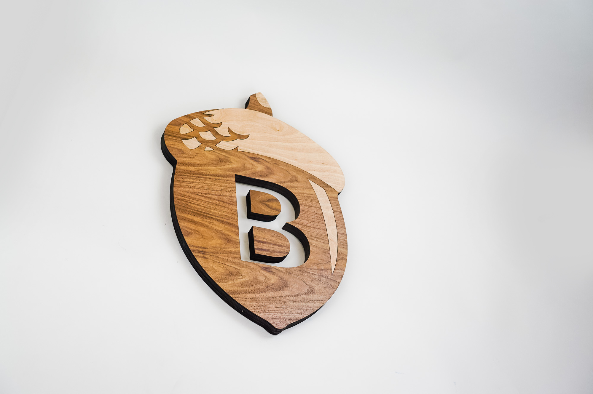 Wood sign for Beneficial State Bank, an Oakland, California-based community development bank.