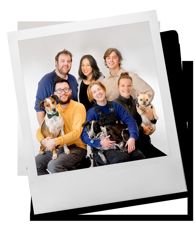Polaroid - Tinkering Monkey Group Photo 2019