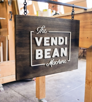 The Vendi Bean Machine