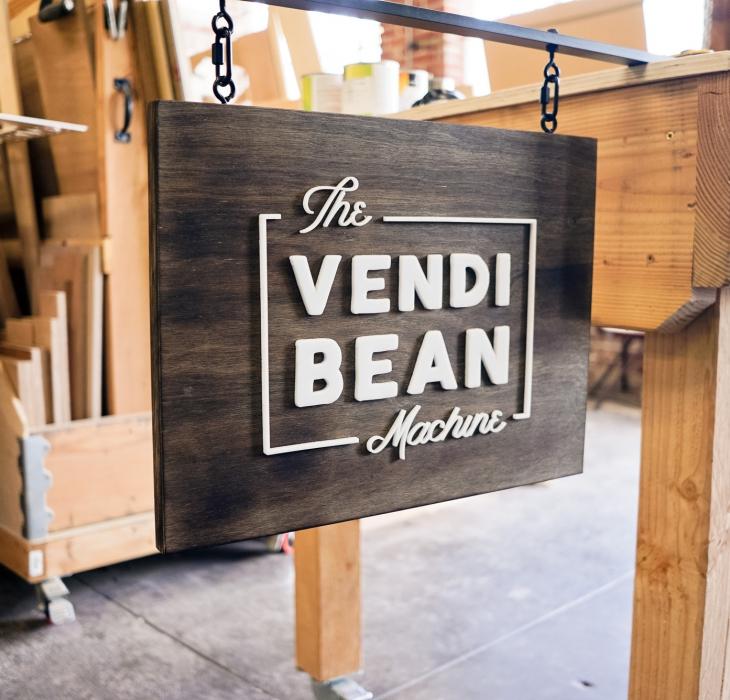 The Vendi Bean Machine