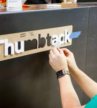 How to Install a Sign with Adhesive