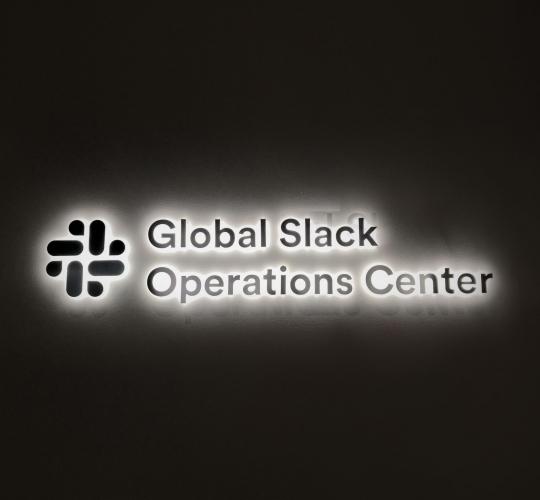 Global Slack Operations Center